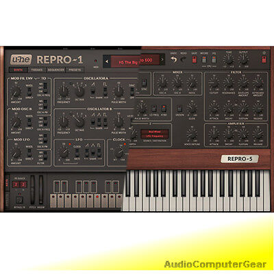U-he REPRO 1 And Prophet 5 Plug-in Bundle Analog Synthesizer Software Synth NEW • 114.98£