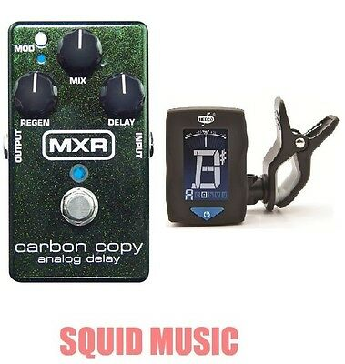 MXR Carbon Copy Analog Delay Guitar Effects Pedal M169 (FREE GUITAR TUNER) M-169 • 107.68£