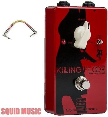 Seymour Duncan Killing Floor High Gain Boost Pedal ( FENDER TWEED PATCH CABLE )  • 116.30£