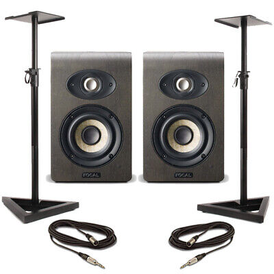 Focal Shape 40 (Pair) With Stands & Cables • 757£