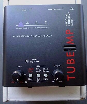 ART Tube MP - Mic Preamp ( Power supply not included )