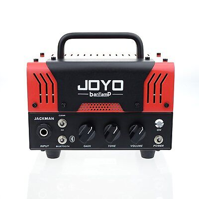 JOYO BanTamP Series JaCkMan 20 Watt 12ax7 Mini Tube Head Guitar Amp W Bluetooth  • 116.53£