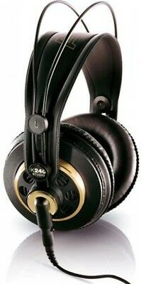 AKG Acoustics K240 Studio Over-Ear Semi-Open Professional Headphones, 15-25000  • 127.47£