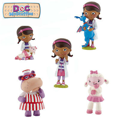 Disney Junior Bullyland Doc McStuffins  Choice Of 5 Figures - Great Cake Toppers • 4.79£
