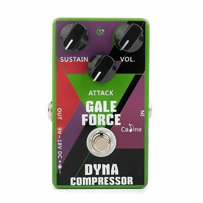 Caline CP-52 Gale Force MXR Dyna Comp Clone Pedal • 25.53£