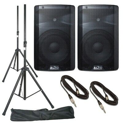 Alto TX210 (Pair) With Stands, Stands Bag & Cables • 312£