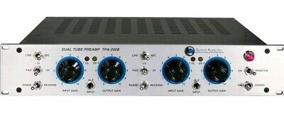 Summit Audio TPA-200B Dual Tube Microphone And Line Preamp NEW • 2,302.68£