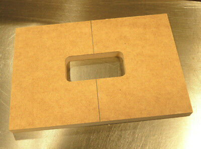TV Jones Filtertron Pickup Guitar Routing Template. Body or Pickguard Rout.
