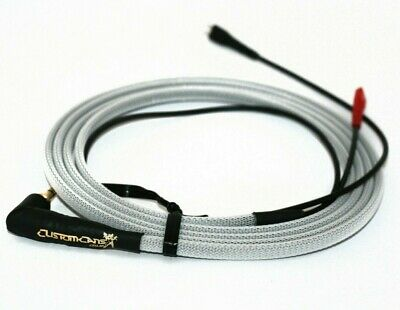 White Wrapped Custom Color Braid Sennheiser HD25 HD 25-1 Replacement Cable 1.5m • 41£