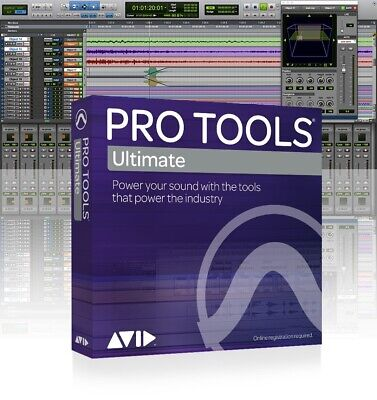 Avid Pro Tools ¦ Ultimate Annual Subscription Renewal – Boxed Edition • 768.05£
