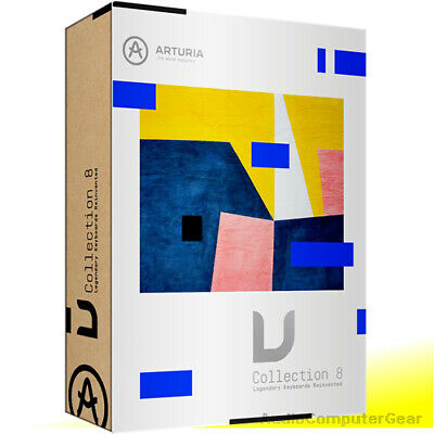 Arturia V-COLLECTION 7 Software Synth Bundle (latest) VCollection BRAND NEW • 388.61£