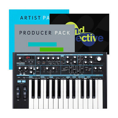 Novation Bass Station II 2 Analogue Synth Synthesizer 25-Key Keyboard USB MIDI • 369.50£