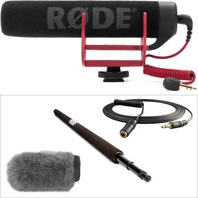 Rode VideoMic Go With Micro Boompole And Windbuster Kit • 215.38£