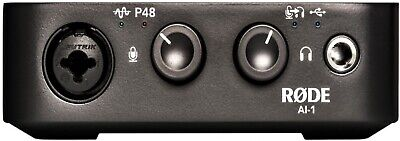 Rode AI-1 Studio-Quality USB Audio Interface • 201.06£