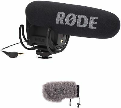 Rode VideoMic Pro With Rycote Lyre Shockmount And Windbuster Windshield Kit • 343.28£