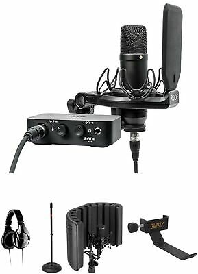 Rode NT1 Complete Studio Kit With Reflection Filter And Headphones • 541.81£
