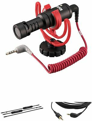 Rode VideoMicro Microphone, Micro Boompole Pro, And Cable Kit • 237.08£