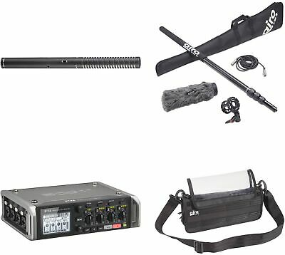 Rode NTG2 Shotgun Mic Kit With Zoom F4 Multitrack Recorder, Boompole, Cable, • 1,158.08£