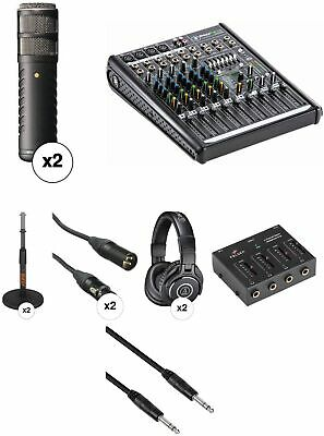 Rode Procaster Broadcast Quality Two-Person Podcasting Kit • 932.03£