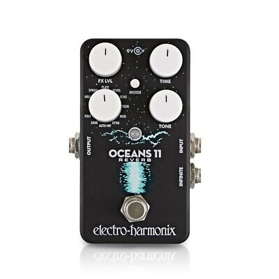 Electro Harmonix Oceans 11 Reverb Effects Pedal • 135£