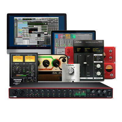 Focusrite Scarlett 18i20 (3rd Gen) 18-In 20-Out USB Audio Interface • 420£