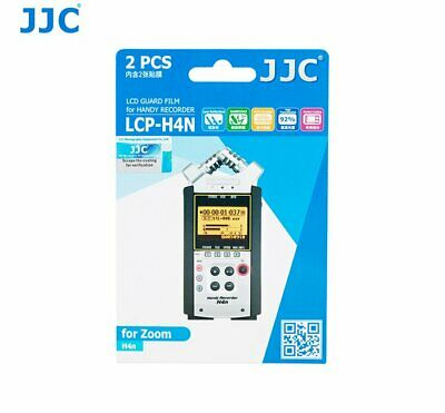 JJC LCP-H4N Screen Protector LCD Guard Film For ZOOM H4n And H4n Pro Anti Smudge • 5.69£