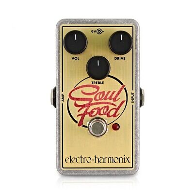 EHX Electro Harmonix Soul Food Transparent Overdrive • 79£
