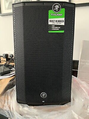 MACKIE Thump 12A Active Speakers X2 (1 Pair) BRAND NEW, BOXED • 519.99£