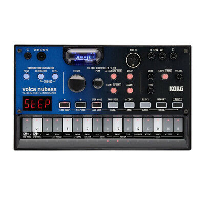 Korg Volca NuBass Vacuum Tube Bass Synthesizer • 159£