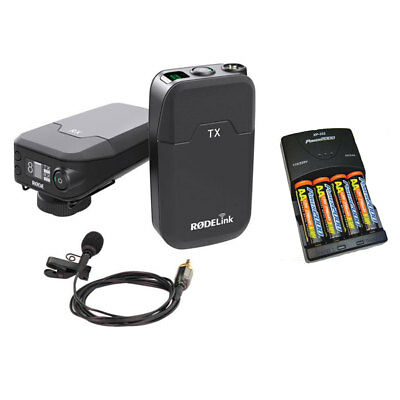 Rode Microphones RodeLink Wireless Filmmaker Kit W/ Batteries & Charger NEW • 319.75£