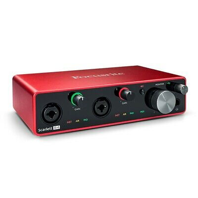 Focusrite Scarlett 4i4 USB Audio Interface 3rd Gen • 177.07£