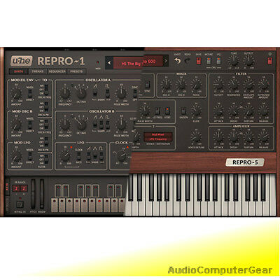 U-he REPRO 1 And Prophet 5 Plug-in Bundle Analog Synthesizer Software Synth NEW • 115.09£