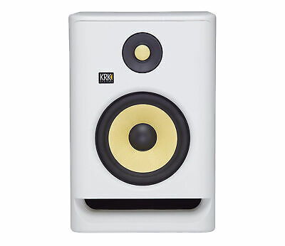 KRK RP7 Rokit 7 G4 Professional Bi-Amp 7  Powered Studio Monitor - White Noise • 296.99£