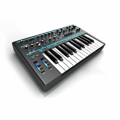 Novation Bass Station II Analogue Synthesizer, 2 Oscillators Plus Sub, 2 Distinc • 389.70£
