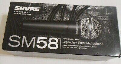 Shure SM58-LC Cardioid Dynamic Vocal Microphone • 64.69£