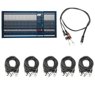 Soundcraft LX7ii 32-Channel Live/Recording Mixer W/ Audio Cables • 1,323.08£