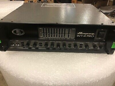 Ampeq SVT-4 PRO 1600 WATTS MADE IN THE USA Working GREAT _ • 514.05£