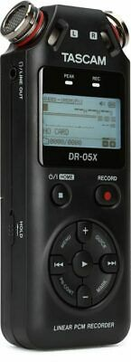 Tascam DR-05X Recorder Portable Digital Stereo With Microphones Panoramic • 124.37£