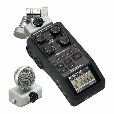 Zoom H6 Handy Portable Recorder - Basic Package                                  • 335.58£