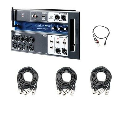 Soundcraft Ui12 12-Input Remote-Controlled Digital Mixer With AxcessAbles Cables • 274.41£