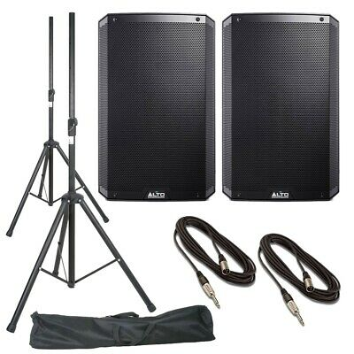Alto TS315 (Pair) With Stands, Stands Bag & Cables • 606£