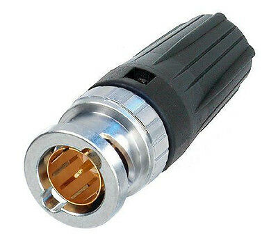 Neutrik NBNC75BLP9 Rear TWIST HD BNC Cable Connector • 2.49£