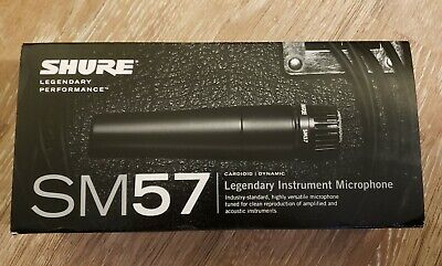 Shure SM57-LC Dynamic Cardioid Instrument Professional Microphone • 60.88£