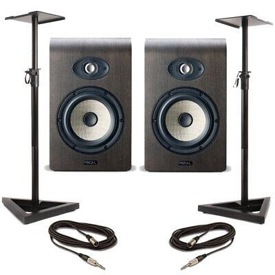 Focal Shape 65 (Pair) With Stands & Cables • 1,124£