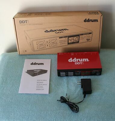 Ddrum DDTi Trigger To MIDI USB Interface - New In Box!! • 122.92£