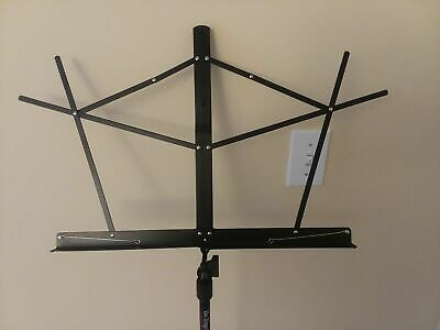 Black Marshall Music Stand  On Stage Stand  With Black Carrying Bag • 8.67£