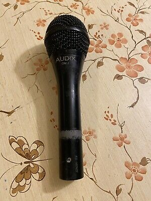 Audix OM2 Dynamic Cable Professional Microphone • 23.30£