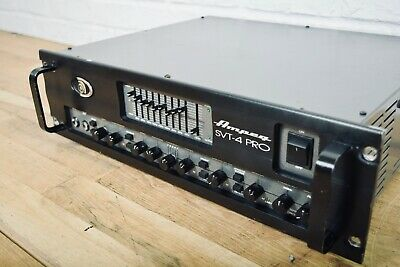 Ampeg SVT-4 Pro Tube Bass Guitar Amp Head Excellent USA Made-amplifier For Sale • 610.94£