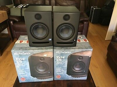 Presonus Eris E5 Active Studio Monitors - No 010 • 245£