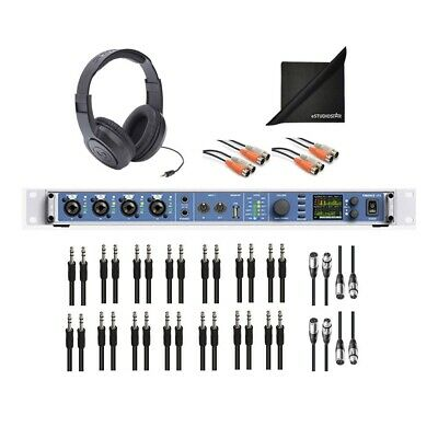 RME Fireface UFX II Interface W AxcessAbles Cables, Headphones And Cloth • 1,852.30£